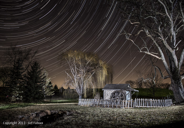 Hoover Star Trails